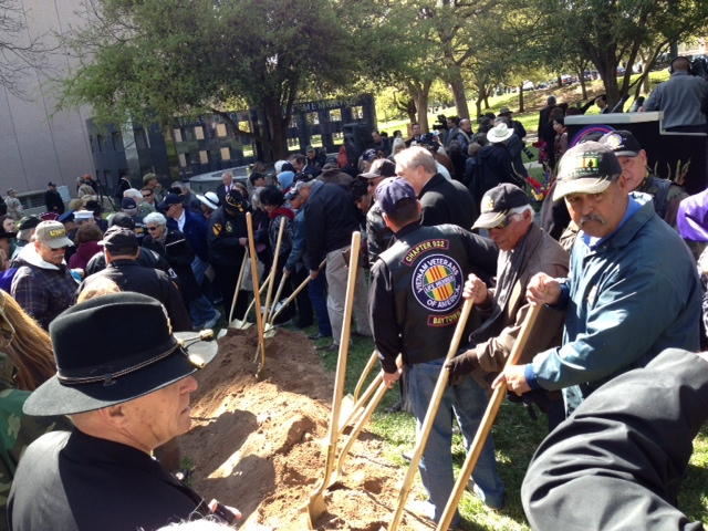 Texas Vietnam Veterans Monument Groundbreaking