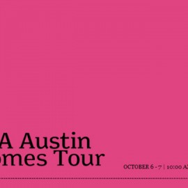 AIA Austin Homes Tour 2012