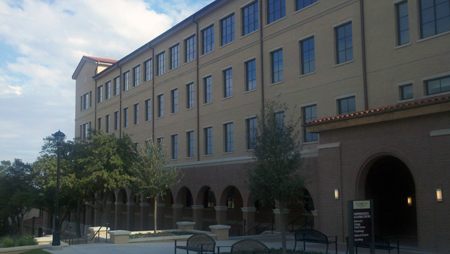 Texas State University Undergraduate Academic Center Dedication
