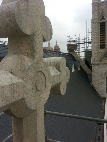 St. Mary's Cathedral – Stone repairs continue