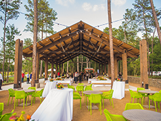 The Groves Pavilion at the Hearth Amenity Center